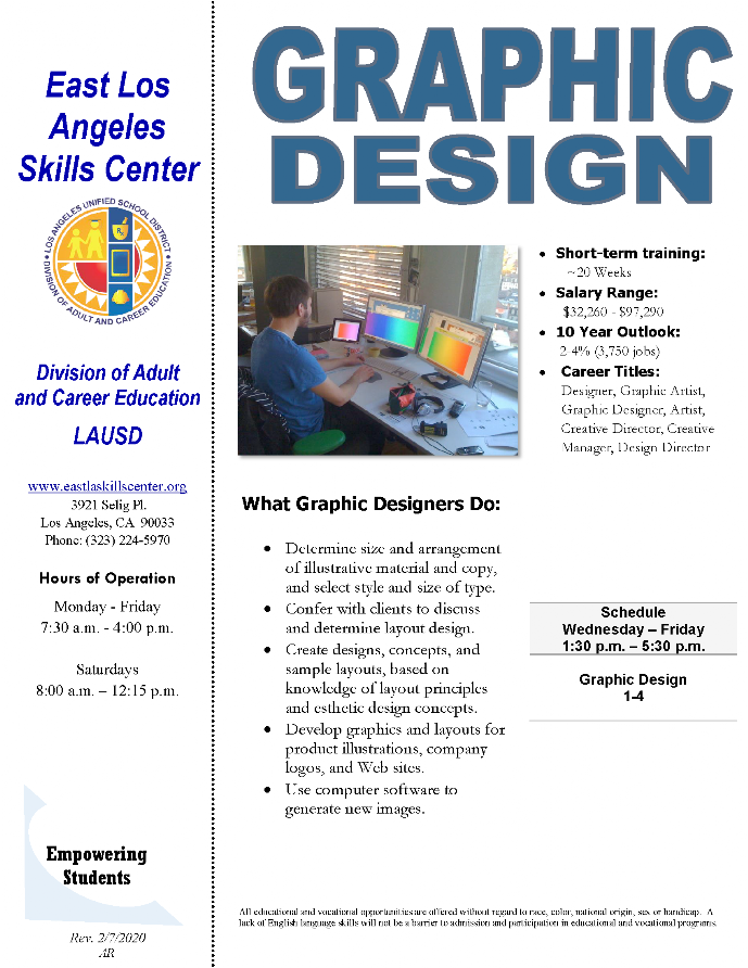 ELASC CTE Graphic Design